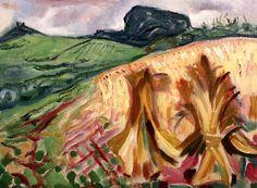 Mısır Tarlasında Edvard Munch - 1917