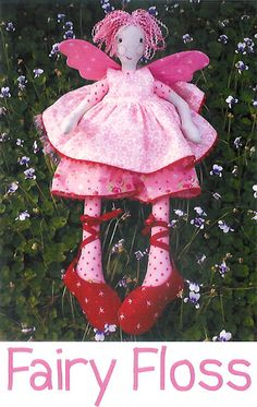 Pattern ''Fairy Floss'' Doll Stuffed Toy by GardensongPatterns