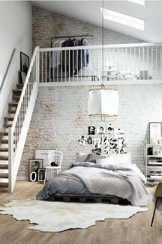 Bedroom Style New York Loft Bedroom.Charming Industrial Loft In New Taipei City IDesignArch . Dramatic Views And A Snazzy Interior Shape Loft Style . Loft Style Apartment Design In New York IDesignArch . Home and Family New York Loft, Loft Apartment Decorating, Apartment Interior, Apartment Ideas, Apartment Cleaning, Apartment Goals, Apartment Design, Design Loft, House Design