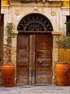 Doors - Chania - Crete - Greece