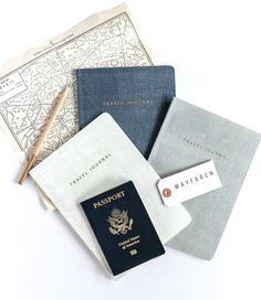 """Hold on to all of your greatest adventures in our """"Weekender"""" Travel Journals. Keepsakes worthy of your adventures, lined notebooks thoughtfully designed for the modern traveler. DETAILS • Our origina"""