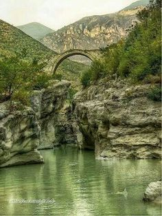 brar bridge in tiran, albania