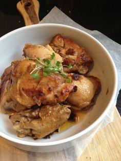Pollo al Ajillo - Garlic Chicken Recipe | Paleo inspired, real food