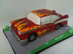 Amazing Cakes for the Groom & Bridal Shower - Fearon May Events Birthday Cakes For Men, Car Cakes For Men, Cakes For Boys, Sweet Cakes, Cute Cakes, Beautiful Cakes, Amazing Cakes, T Rex Cake, Party On Garth