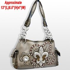 TheHandbagWarehouse.com :: wholesale purses, whoesale handbags, western, fashion, rhinestone, camo, cross, designer, fleur-de-lis.