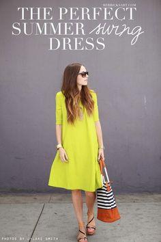 DIY : la robe parfaite pour ce printemps