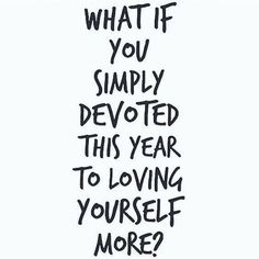 Self-Love!