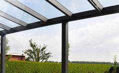 Terrassendach mit Glas 300x200 cm