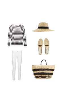 Travel outfit, part of a carry-on packing list for the Canary Islands.