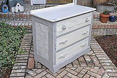 dumpster to rustic diva dresser how to use wallpaper on furniture, furniture furniture revivals, painting