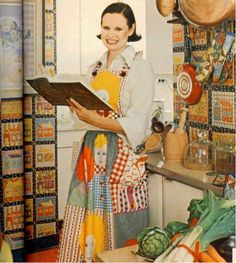 gloria vanderbilt in the kitchen