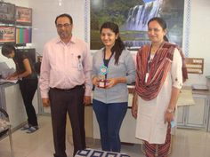 """Amroli College Congratulations Chauhan Trupti A. T.Y.B.Com, Division-4 Second Rank In """"Best Out Of Waste""""Inter College Competition At B.K.M Science College,Valsad"""
