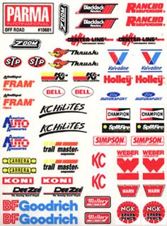 Decal Sheet