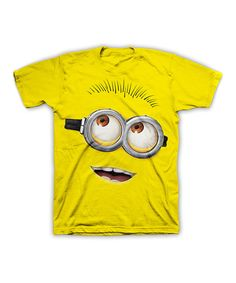 Look at this Yellow Minion Tee - Men on #zulily today!