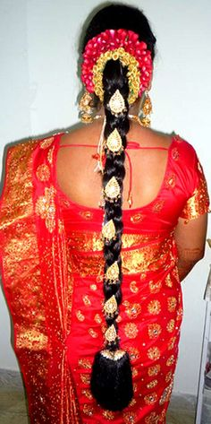 traditional braided bridal hair style