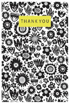 Graphic Thank You Greeting Card - Printed in the UK Thank You Greetings, About Uk, Greeting Cards, Paper, Prints