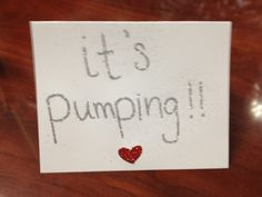 """Surf Valentine's Day Card - """"IT'S PUMPING!"""""""