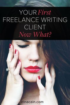 Yikes! You landed your first #freelance writing client and you have no idea what to do? Find out here what needs to be done so you look like a pro instead of a newbie freelance writer.