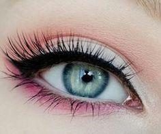 Girly eyeshadow