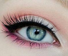 Girly eyeshadow