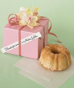 Mini Coconut-Macadamia Bundt Cakes
