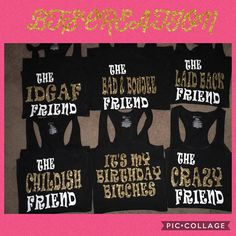 Birthday squad shirt