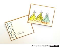 My Monthly Hero: Creativity in a Box April 2017 kit idea #2 by Libby Hickson. Kit and add-ons available for purchase Monday, April 3. #mymonthlyhero