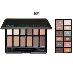 Beauty Essentials Focallure Pure Matte Eye Shadow Palette Earth Color Shadows 18 Colors Shades Palette Natural Eye Make Up To Have Both The Quality Of Tenacity And Hardness Eye Shadow