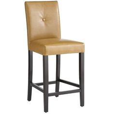 Mason Counterstool - Camel - this color would be a great color tie in with the backsplash and would nice looking from the blue dining room.  $159