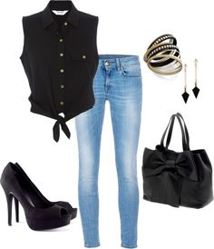 """Chic"" by emily-cromwell on Polyvore"