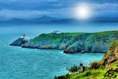 """Photo """"lighthouse"""" by TyBellosFotography World Best Photos, Photo Contest, Lighthouse, Ireland, Golf Courses, Places To Visit, Community, Mountains, Water"""
