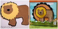 """Great step by step tutorial on how to turn """"flat"""" die cuts into FAB die cuts using Copic Markerss!"""