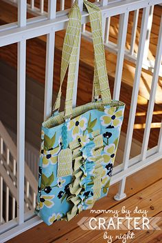 Two Toned Tote + Tutorial