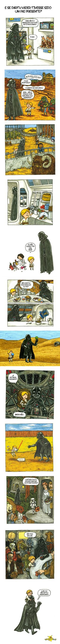Parenting. Level: Darth Vader Pretty Funny