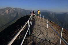 The view from atop Moro Rock in Sequoia National Park. National Parks in California.  More information on Lassen Park in Northern California at:  www.stbernarlodge.com