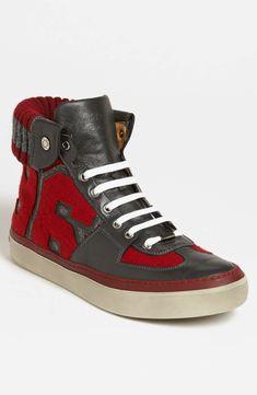 Love the Jimmy Choo 'Walcott Varsity' Sneaker on Wantering   $667   sale price   Boxing Week for Him   mens high top sneakers   menswear   mens style   mens fashion   wantering http://www.wantering.com/mens-clothing-item/jimmy-choo-walcott-varsity-sneaker/af9cV/