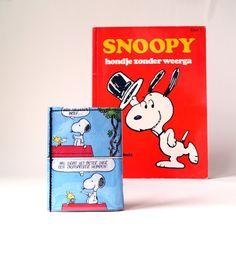 Portemonnaie SNOOPY PEANUTS Comic upcycling Unikat! Geldbörse, Brieftasche, Geldbeutel Snoopy Peanuts Comic Brieftasche handmade in Berlin von PauwPauw auf Etsy