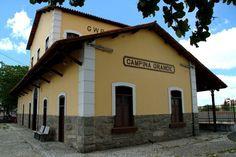 Estação Ferroviária construída para receber em 1907 a Maria Fumaça.