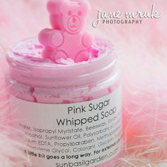 We were tickled PINK today to discover this gorgeous photo shot of our best selling Pink Sugar Butter. Credit to JANE. Whipped Soap, Whipped Body Butter, Trending Christmas Gifts, Bath Bomb Recipes, Cool Science Experiments, Pink Sugar, Gifts Under 10, Perfume Oils, Home Made Soap