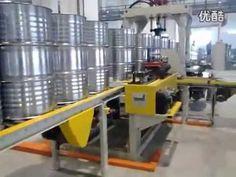 Steel barrel production line, 55 gallon steel drum production line