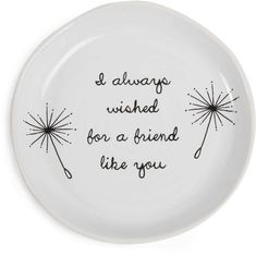 I always wished for a friend like you Keepsake Dish