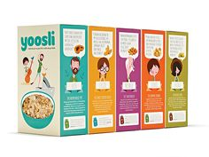 Together Design has created the brand identity and e-commerce site for muesli start-up Yoosli.com. We worked closely with Andrew Bannecker to develop the illustrations.