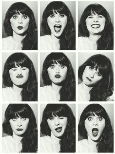 Deschanel. If i could only have her eyes....