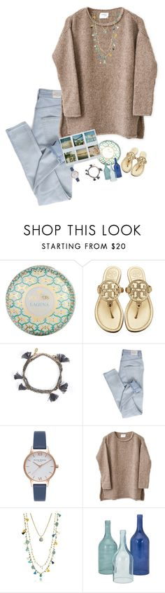 """""""RTD to join my taglist!"""" by preppyandperfect ❤ liked on Polyvore featuring Frontgate, Tory Burch, Shashi, Cheap Monday, Olivia Burton and Home Decorators Collection"""