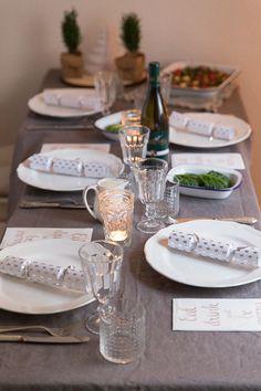Running Dinner, Dinner, Table Setting, Decoration