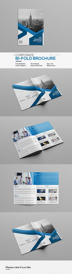 Tri-fold Brochure Template More Tri fold brochure template, Tri