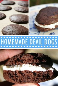 These homemade devil dogs will definitely satisfy your nostalgic longings, with a delicious homemade flavor that is better than store-bought. On Craftsy!