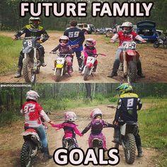 Motocross Couple, Motocross Quotes, Dirt Bike Quotes, Bike Couple, Motocross Girls, Racing Quotes, Motorcycle Quotes, Dirt Bike Girl, Girl Motorcycle