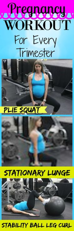 Pregnancy Workouts For trimester.  This one works the thighs and butt.  There is also a great 2 week pregnancy diet plan inside this post.  http://michellemariefit.publishpath.com/pregnancy-workouts-for-every-stage