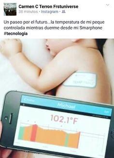 Temperatura controlada con el #smartphones #tecnologia